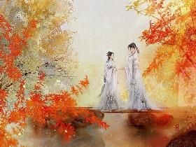"""""""江湖纷扰,你愿意跟我走吗?"""""""