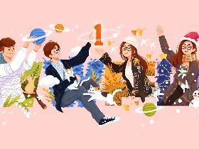 春夏秋冬-WWFG周年贺图
