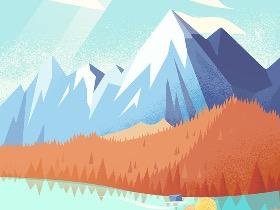 风景插画--旅行(一)