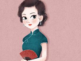 旗袍,戒不掉的东方美
